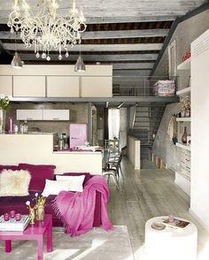 Unique vintage loft home in Barcelona - gallery
