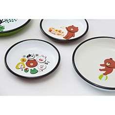 LINE Friends x Muurla Enamel Plate 18cm Anime 100% Authentic Official Goods  | eBay