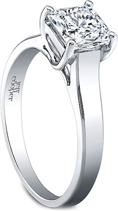 Jeff Cooper Solitaire Engagement Ring 2970