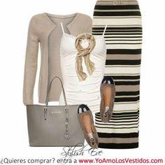 Dreessing up a maxi skirt
