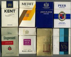 The VIrtual Tobacconist - Flip-top UK Cigarette Packets - Brands, c 1970 Quit Smoking Tips, Cigarette Brands, Up In Smoke, Breakfast Of Champions, Do You Remember, The Good Old Days, Childhood Memories, Growing Up, Helpful Hints