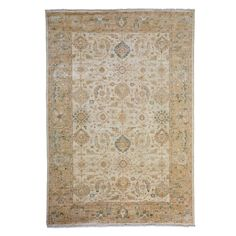 """Oushak Collection Oriental Rug, 6'2"""" x 8'10"""""""