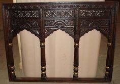 Indian style mirror | Antique mirror frame, Mirror ...