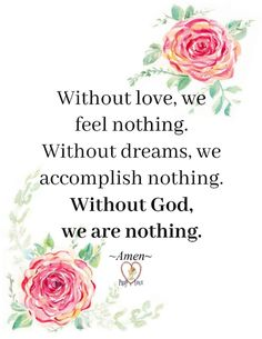 Without God we are nothing. Afrikaans Quotes, Feeling Nothing, Pray, Faith, God, Feelings, Blessings, Inspiration, Dios