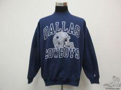 Vtg 90s Champion Dallas Cowboys Crewneck Sweatshirt sz L Large Football NFL NFC #Champion #DallasCowboys #tcpkickz Dallas Cowboys Funny, Dallas Cowboys Football, Crew Neck Sweatshirt, Graphic Sweatshirt, Nfl Shirts, Champion, Sweatshirts, Men, Hoodies