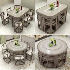 Outdoor Furniture Design, Unique Furniture, Kitchen Furniture, Wooden Sofa Designs, Estilo Shabby Chic, Living Room Sofa, Sweet Home, Dining Table, Dining Room
