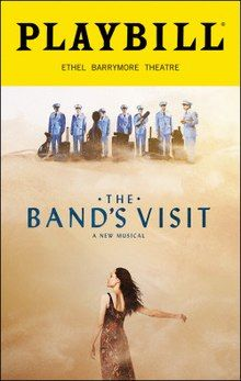 Brand New Color Playbill from The Band's Visit at the Ethel Barrymore Theatre starring Tony Shalhoub Katrina Lenk John Cariani Adam Kantor Music and Lyrics by David Yazbek Book by Itamar Moses: Collectibles: Broadway Theme, Broadway Posters, Broadway Plays, Broadway Shows, Broadway Playbill, Movie Posters, The Band's Visit, Tony Shalhoub, National Theatre