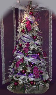 Purple Passion Christmas Tree