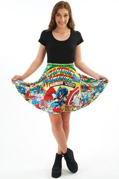 Get patriotic with the Captain America line from Living Dead Clothing