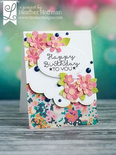 Houses Built of Cards: Lil' Inker Designs April Release Day 2 Paper Cards, Diy Cards, Your Cards, Handmade Birthday Cards, Greeting Cards Handmade, Fancy Fold Cards, Card Making Inspiration, Pretty Cards, Flower Cards