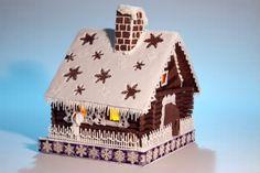 receita de natal, casinha de biscoito - Pesquisa Google