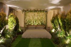 Greenery apartment installation by Airbnb and Pantone