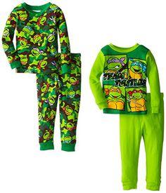 Teenage Mutant Ninja Turtles Little Boys' Team Turtle Pajama Set Toddler Boy Fashion, Little Boy Fashion, Toddler Boys, Kids Fashion, Boys Pjs, Boys Pajamas, Pyjamas, Fashion Designers Names, Cute Toddlers