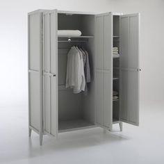 Armoire 3 portes, Eugénie La Redoute Interieurs - 480,80 € Decoration, Lockers, Locker Storage, Dressing, Cabinet, Furniture, Home Decor, Wardrobes, Womens Fashion