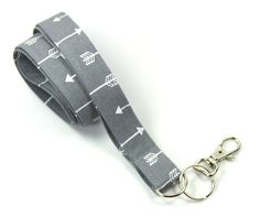 This cute lanyard has beautiful arrow design on gray. It is perfect for any occasion. You can leave me a convoy if you need a different size. You can have a wardrobe of lanyard to match your outfit. This lanyard is made of soft 100% cotton fabric to give a comfortable feel around your neck. This lanyard is easy to take care. You can spot clean and throw in a washer and hang dry. If you want you can iron and it is ready to use. These lanyards are perfect if you have metal allergy. Each of…