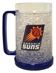 16Oz Crystal Freezer Mug - Phoenix Suns