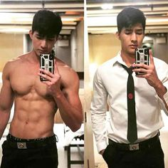 left or right ? Earth Baby, Cute Love Couple, Le Male, Serious Business, Men In Uniform, Male Physique, Asian Actors, Dream Guy, Muscle Men