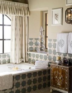 French style bathroom