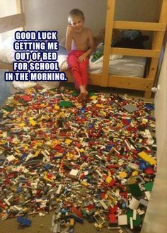 Can't decide which is worse... The fact that I think this is actually a really good idea or the fact that I could really do it with my Lego collection...