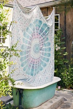 Magical Thinking Odette Medallion Shower Curtain - Urban Outfitters