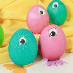 Too-Cute Cyclops #easterdiy