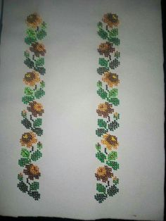 Embroidery Stitches, Embroidery Designs, Palestinian Embroidery, Preschool Crafts, Make It Simple, Cross Stitch Patterns, Diy And Crafts, Projects, Handmade