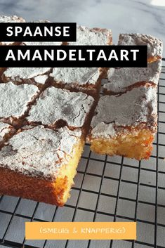 Dutch Recipes, Sweet Recipes, Baking Recipes, Healthy Dessert Recipes, Snack Recipes, Snacks, Tea Cakes, Cupcake Cakes, Sweet Pie