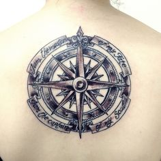 """""""I am the master of my fate, I am the captain of my soul"""" #compass #compasstattoo #tattoo #ink #tatuagem #rosadosventos #sea #invictus #poem #literary #tattooliterary #quote # quote tattoo #willianernesthenley"""