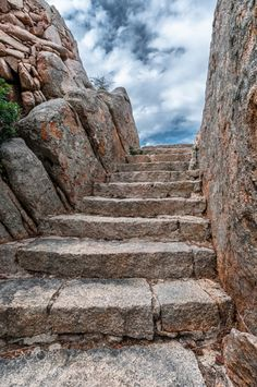 Treppe zum Paradies. by memba  Treppe Italien Sardinien Paradies Capo dOrso memba