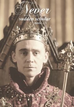 The Hollow Crown (Tom HIddleston as Henry V)