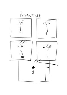 Sneeze | A Johannes Comic by Jukka Ahola.  Johannes, an unlikely hero, battles against forces bigger than him in this quirky Finnish comic that has been dubbed one of the worst comics of 2015. #comics #finnishart #finnishcomics #minimalism #sarjakuva #strippi #comicstrip #sneeze