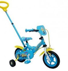E&L Cycle Kinderfiets 10 inch- Minions