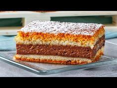 Aceasta prajitura este perfecta! Prajitura turnata ce iese din prima   SavurosTV - YouTube Vanilla Cake, Tiramisu, Banana Bread, Ethnic Recipes, Tv, Candy Stations, Deserts, Egg Yolks, Pies