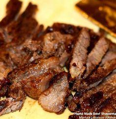 Shredded Lebanese Beef Shawarma