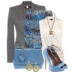 A fashion look from April 2013 featuring halter top, evening jackets and floral skirt. Browse and shop related looks.