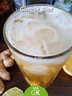 Ein herrliches Ginger Bier mit Ingwer, Wodka und Bier ist immer eine Freude. Das Rezept zum Ausprobieren. Pudding, Desserts, Food, Beer Recipes, Vodka, Dieting Tips, Glee, Homemade, Tailgate Desserts