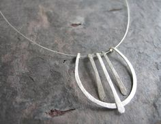 Simple but pretty lyre necklace! #AXO