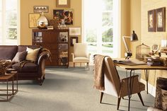 National Seashore Carpet, Lighted Path Carpeting | Mohawk Flooring | SmartStrand |  #stainresistant #carpet #MohawkFlooring