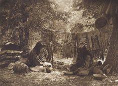 Apache Camp (The North American Indian, v. I. Cambridge, MA: The University Press, 1907)