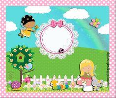 Kit imprimible para niñas con hadas y mariposas