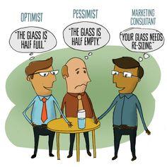Don't be the optimist or pessimist. Be the marketing consultant! Portfolio Web Design, Web Design Agency, Web Design Trends, Web Design Company, Design Websites, Social Media Marketing, Digital Marketing, Online Web Design, Monday Motivation Quotes