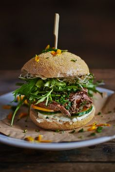 Steak-Burger