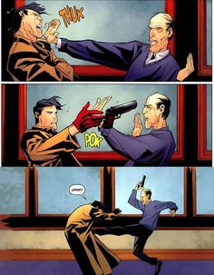 'I'M ALFRED.... the real super hero in this family.' Butlers are the best... particularity when they're Alfred.