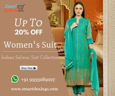 Smartdeals4u.com brings U the Grt Indian salwar suit collection. Check out the latest Collection only on Smartdeals4u.com. For more Details U can wats app us at 91-995-308-9027