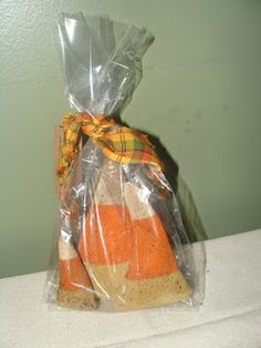 'Candy Corn's made by Grubby Primitives