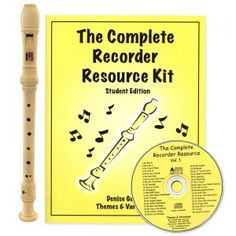 Complete Recorder Resource w/ Choice of Recorder