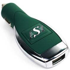 To add to our #CFL Licensed #Saskatchewan #Roughriders collection, here's a #USB car #charger! Only $19.99 at www.caseco.ca. #FreeShipping
