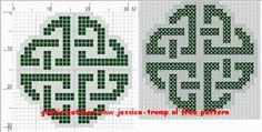 borduren keltische knopen borduurpatronen celtic knots cross stitch designs