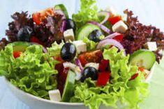 Dieta de la ensalada para bajar de peso
