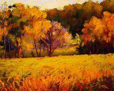 Ozark Gold Pastel Landscape, Landscape Art, Landscape Paintings, Landscapes, Oil Pastel Art, Oil Pastels, Paintings I Love, Pastel Paintings, Drawing Skills
